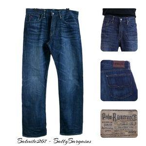Polo Ralph Lauren 867 Jeans 33x32 Dark Elliot Wash